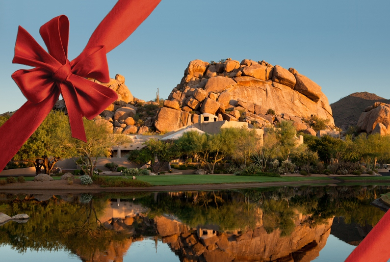 Celebrate your holiday at The Boulders