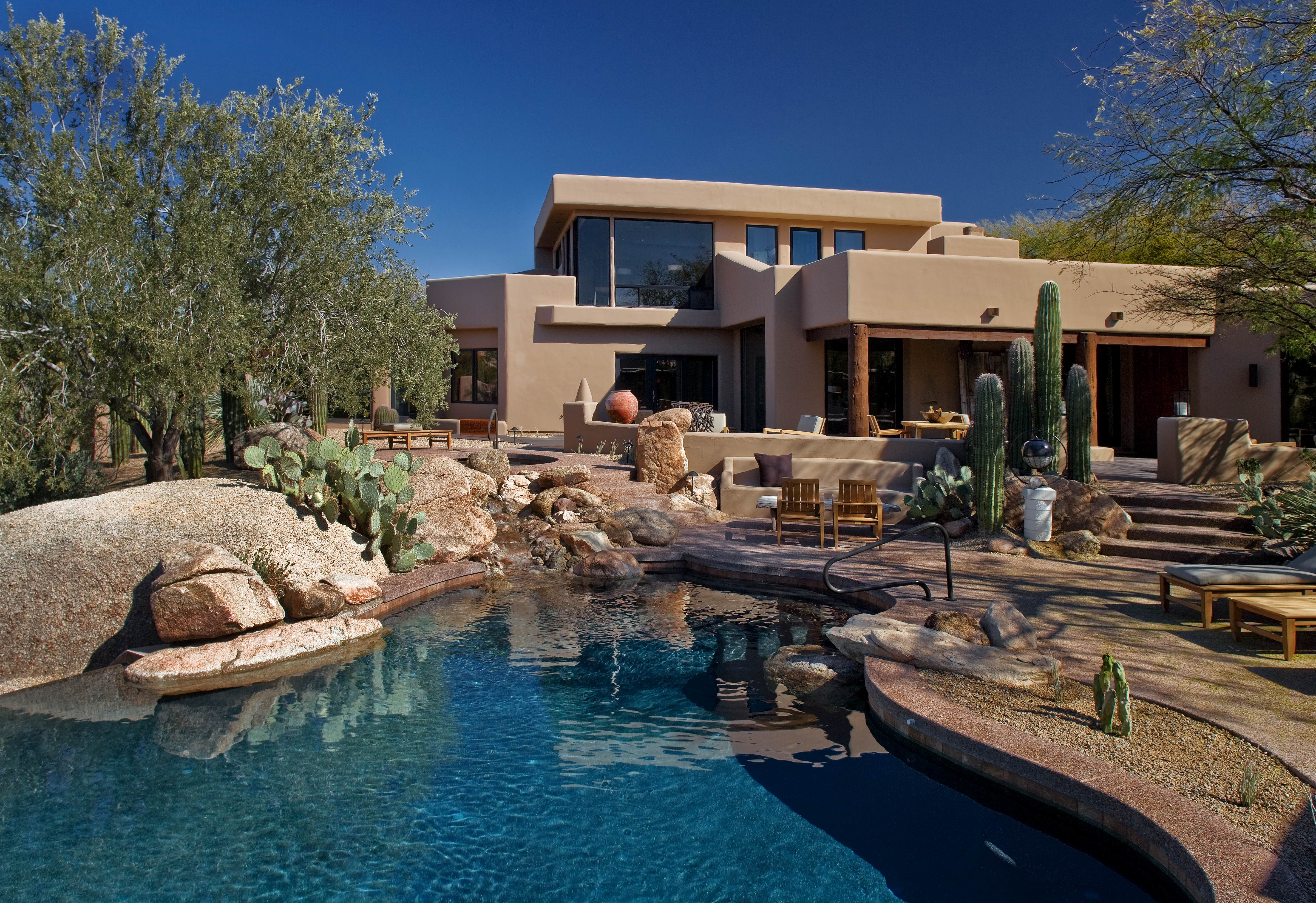 Villa retreat accommodations at the boulders resort for Small luxury hotels phoenix