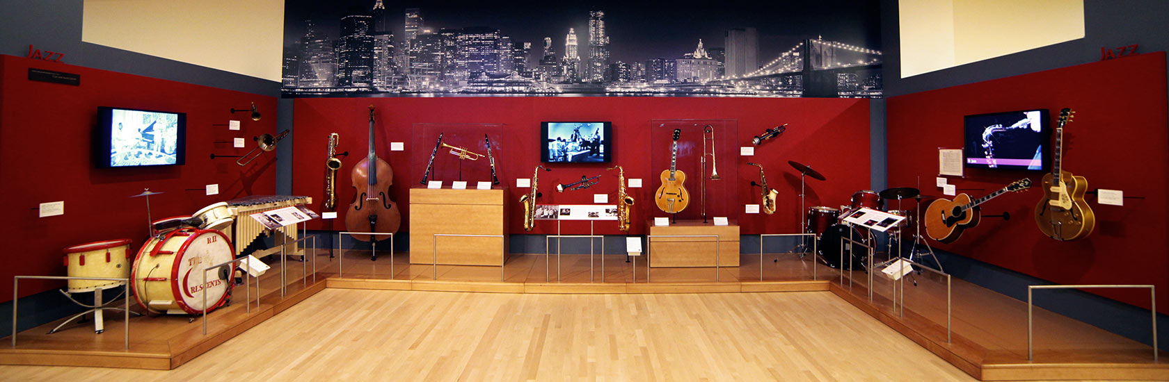 Instruments on display at the Musical Instrument Museum