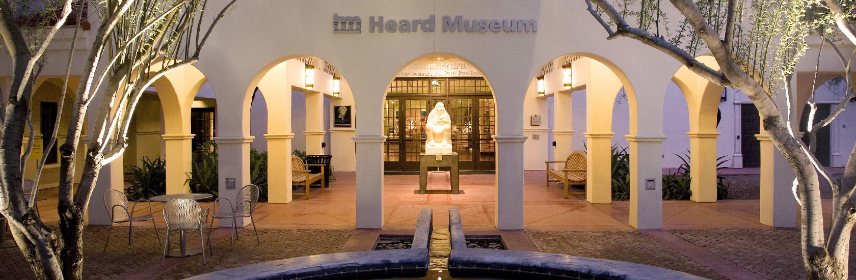 Outside view of the Heard Museum