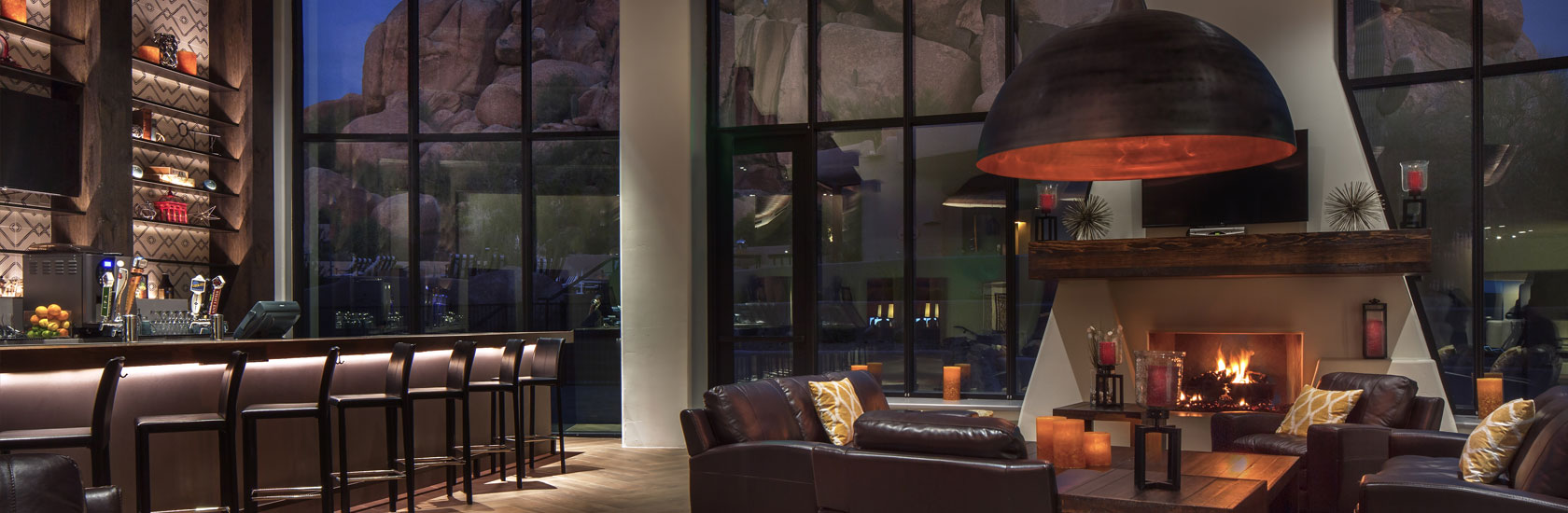 Discovery Lounge | Dining at the Boulders Resort & Spa | Scottsdale