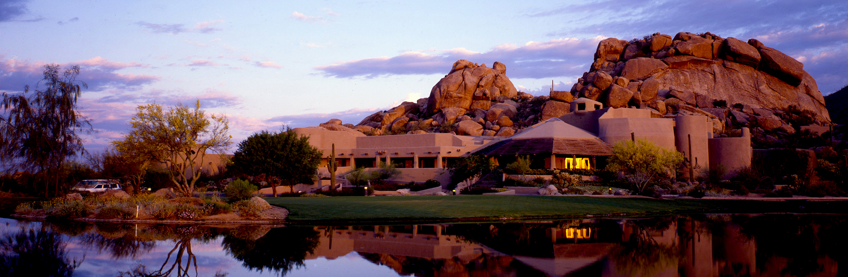 Outside view of The Boulders Resort