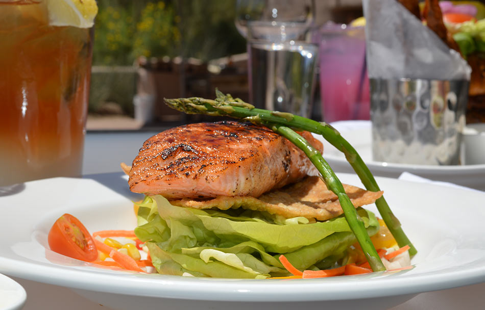 Palo Verde salmon brunch dish